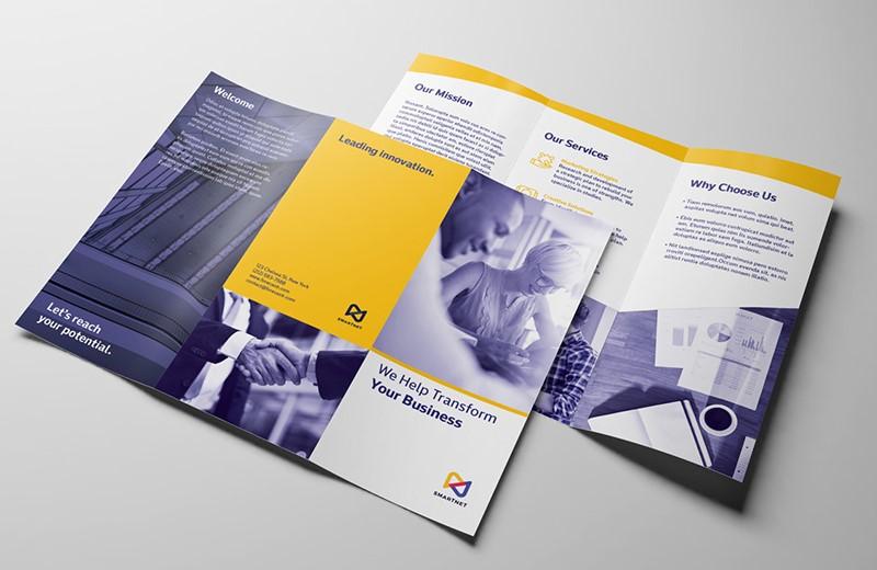 Cara Membuat Template Brosur, pamflet dan flyer di Adobe InDesign