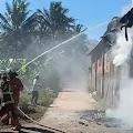 Sebuah Dapur Penggorengan Makaroni di Grabag Terbakar, Kerugian Ditaksir Mencapai Rp 50 Juta