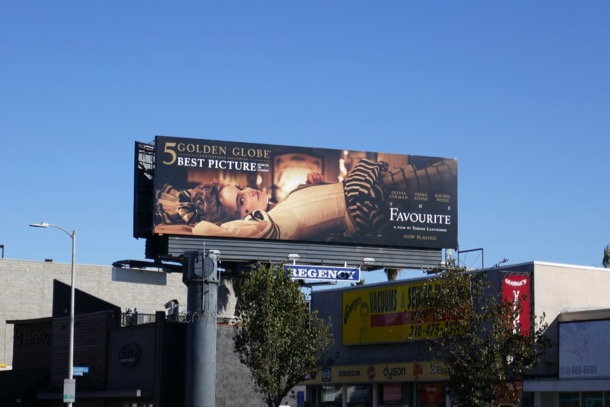 Favourite Golden Globe nominee billboard