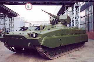 MT-LB Shturm-SM-2