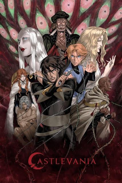 Castlevania الموسم الاول , Castlevania الموسم الثانى , Castlevania  الموسم الثالث , Castlevania الموسم الرابع