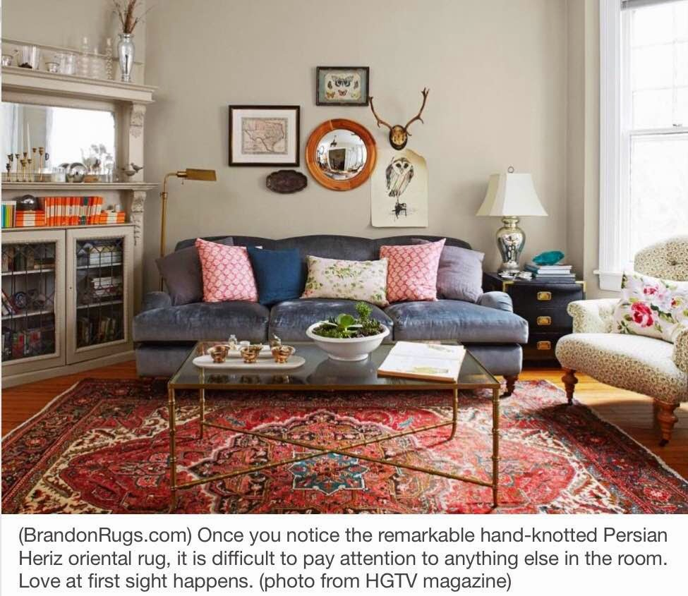 Brandon Oriental Rugs: More Home Decor Ideas Using Real