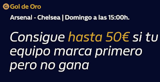 william hill promocion Arsenal vs Chelsea 29 diciembre 2019