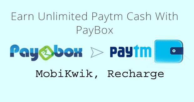 PayBox Refer Earn: Get Rs.50 On Sign-up + Rs.50 Per Referral