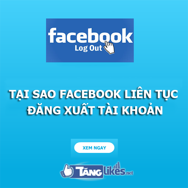 facebook tu dang xuat tai khoan