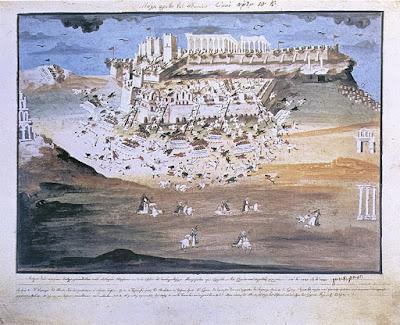 Επίθεση των Ελλήνων στην Ακρόπολη