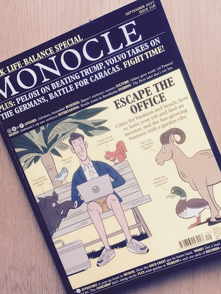 Monocle Work-Life-Balance Special