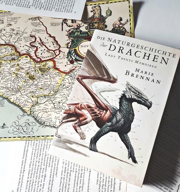 [Rezension] Lady Trents Memoiren: Die Naturgeschichte der Drachen von Marie Brennan