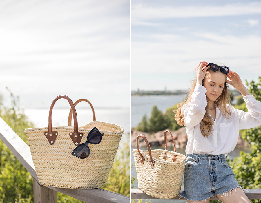 Kuinka pukeutua ajattomasti kesällä // How to style a timeless outfit for summer