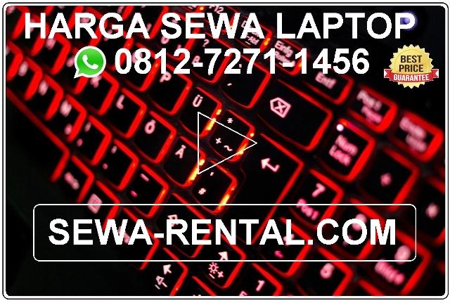 Harga sewa laptop, Harga sewa laptop Jakarta