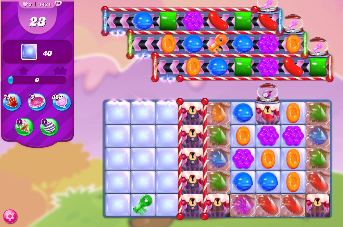 Candy Crush Saga level 4431