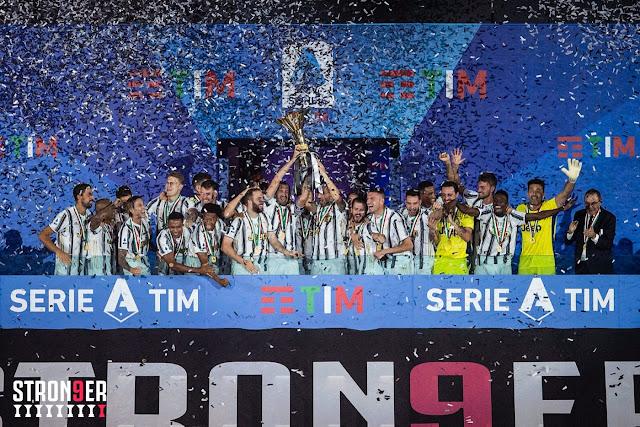 يوفينتوس يرفع كأس الدورى الإيطالي