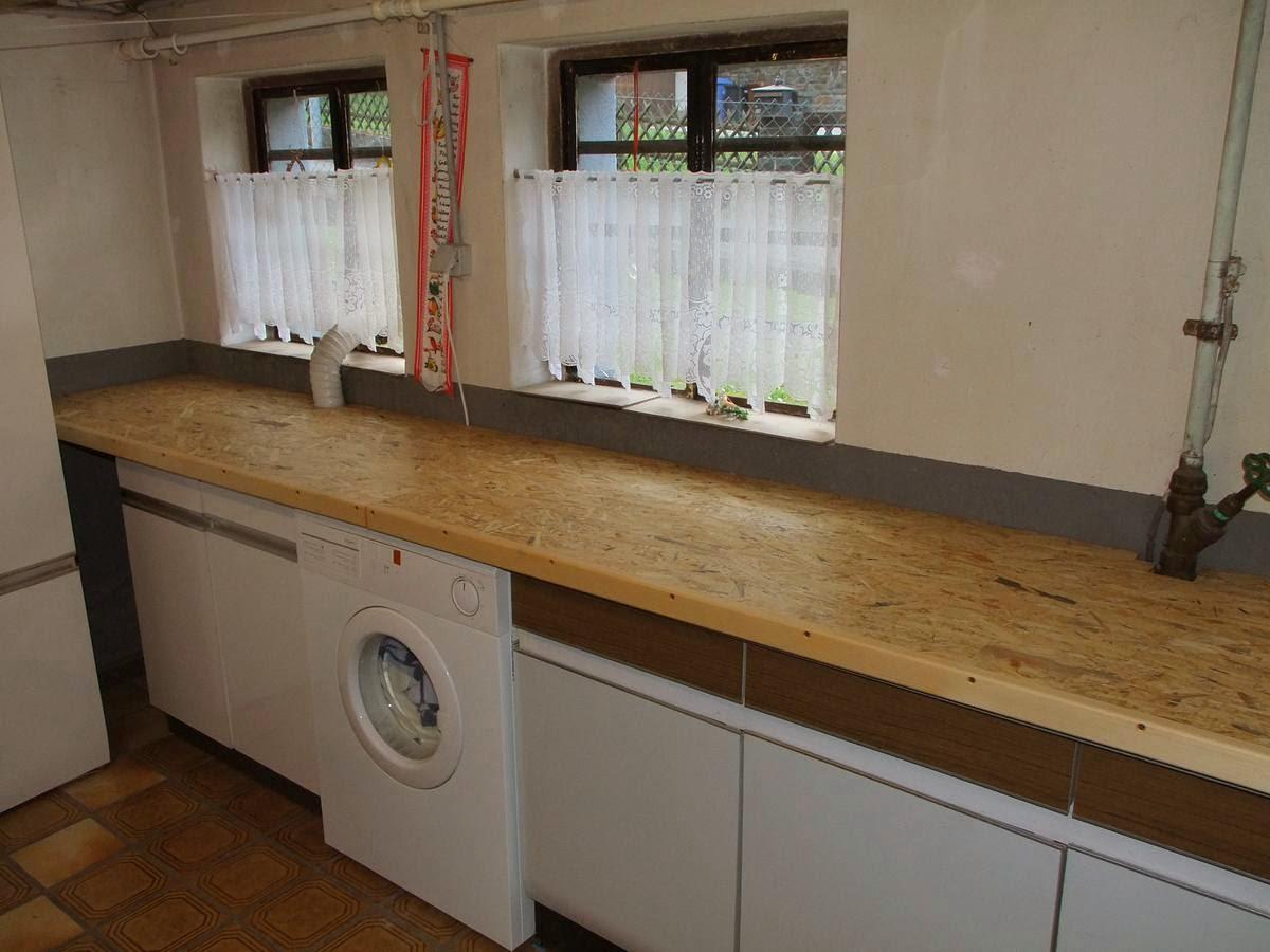 Arbeitsplatte kuche osb - Waschkuche mobel ...