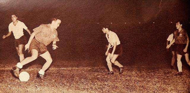 Chile y Bolivia en Campeonato Sudamericano de 1953