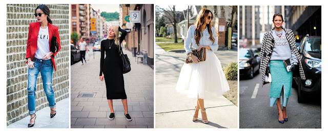 Стиль casual chic - примеры смешения стилей