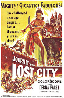 Poster: Journey to the Lost City (1960)
