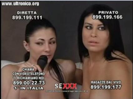 Sofia Gucci and Manuela Live Sexy Show @ Diva Futura
