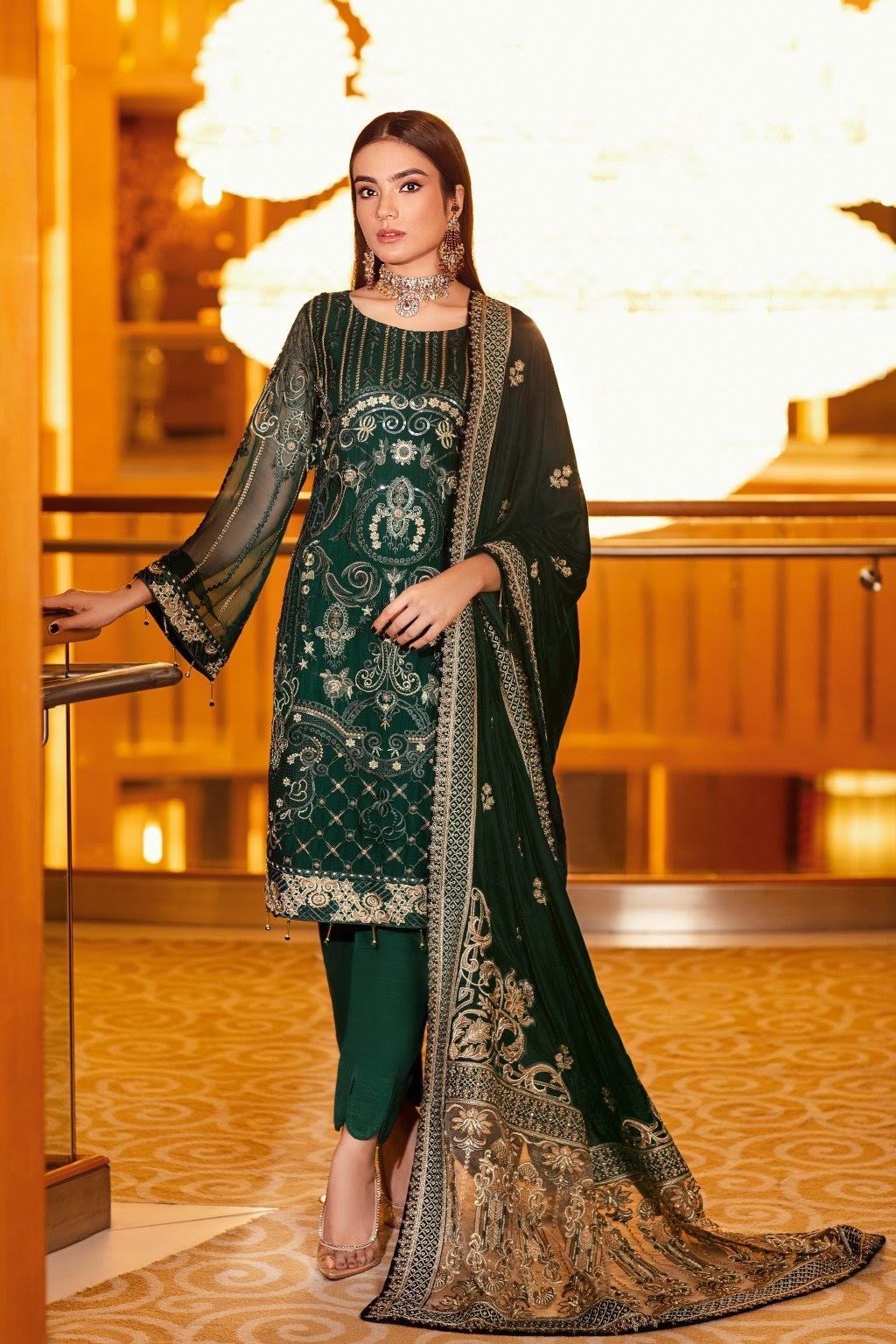 Ramsha Velvet Unstitched Collection 2021