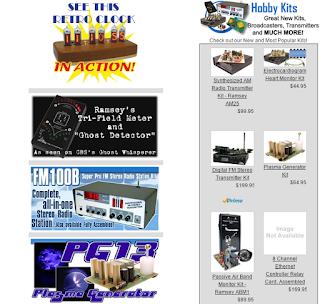 Bent-Tronics: Ramsey Electronics shuts down it's hobby ...