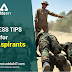 Fitness Tips for SSB Aspirants