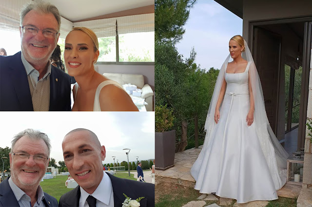 Ναυπλιώτικη παρουσία στο γάμο του Μπρούνο Τσιρίλο και της Έλενας Ασημακοπούλου