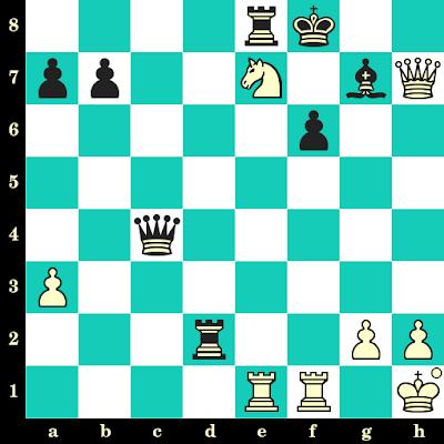 Les Blancs jouent et matent en 2 coups - Larry Christiansen vs John Nunn, Vienne, 1991
