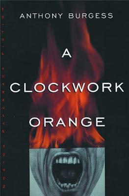 A Clockwork Orange by Anthony Burgess-book cover