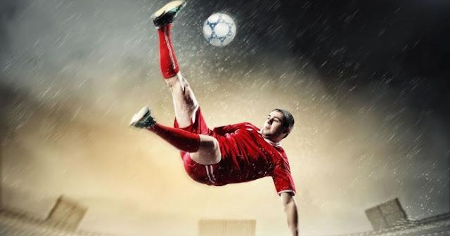 entrenamiento de fútbol y los suplementos