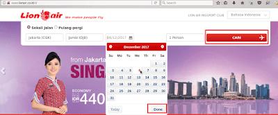Cara Pesan Tiket Pesawat Lion Air dengan ATM