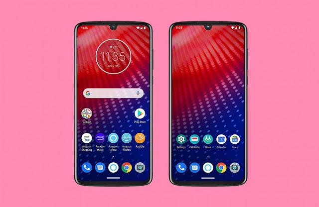 شخص يقوم بشراء هاتف Motorola Moto Z4 من موقع أمازون قبل الاعلان الرسمي عنه و يسرب مواصفاته