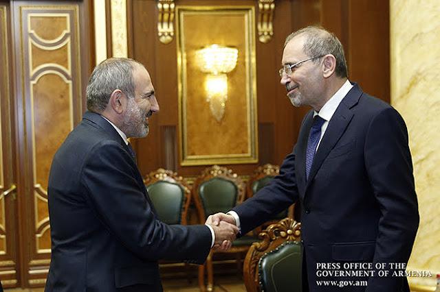 Armenia y Jordania impulsan relaciones bilaterales