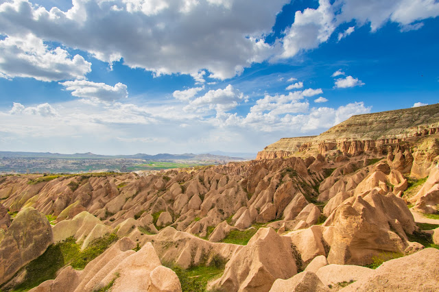 Kizilgukur seyir tepesi-Red/rose valley-Punto panoramico-Cappadocia