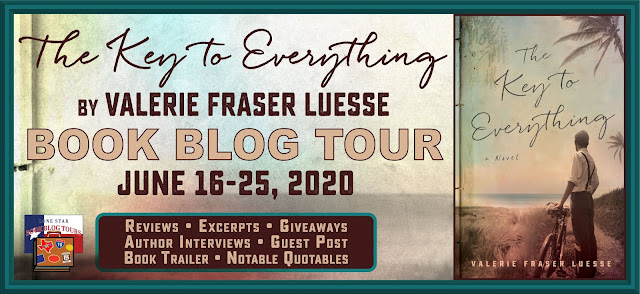 The Key to Everything book blog tour promotion banner