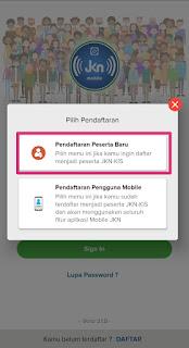 pendaftaran BPJS Kesehatan aplikasi JKN mobile