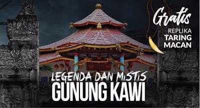 Wisata Mistis Legenda Gunung Kawi