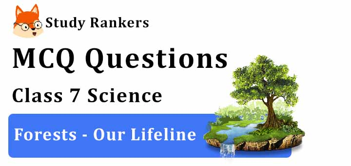 MCQ Questions for Class 7 Science: Ch 17 Forests - Our Lifeline