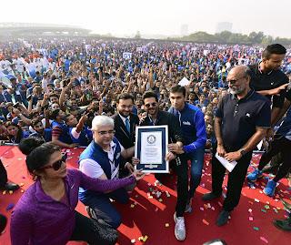 Bajaj Allianz Life Insurance _India Creates New Guinness World Record Led by Actor, Anil Kapoor & Bajaj Allianz Life - Plankathon