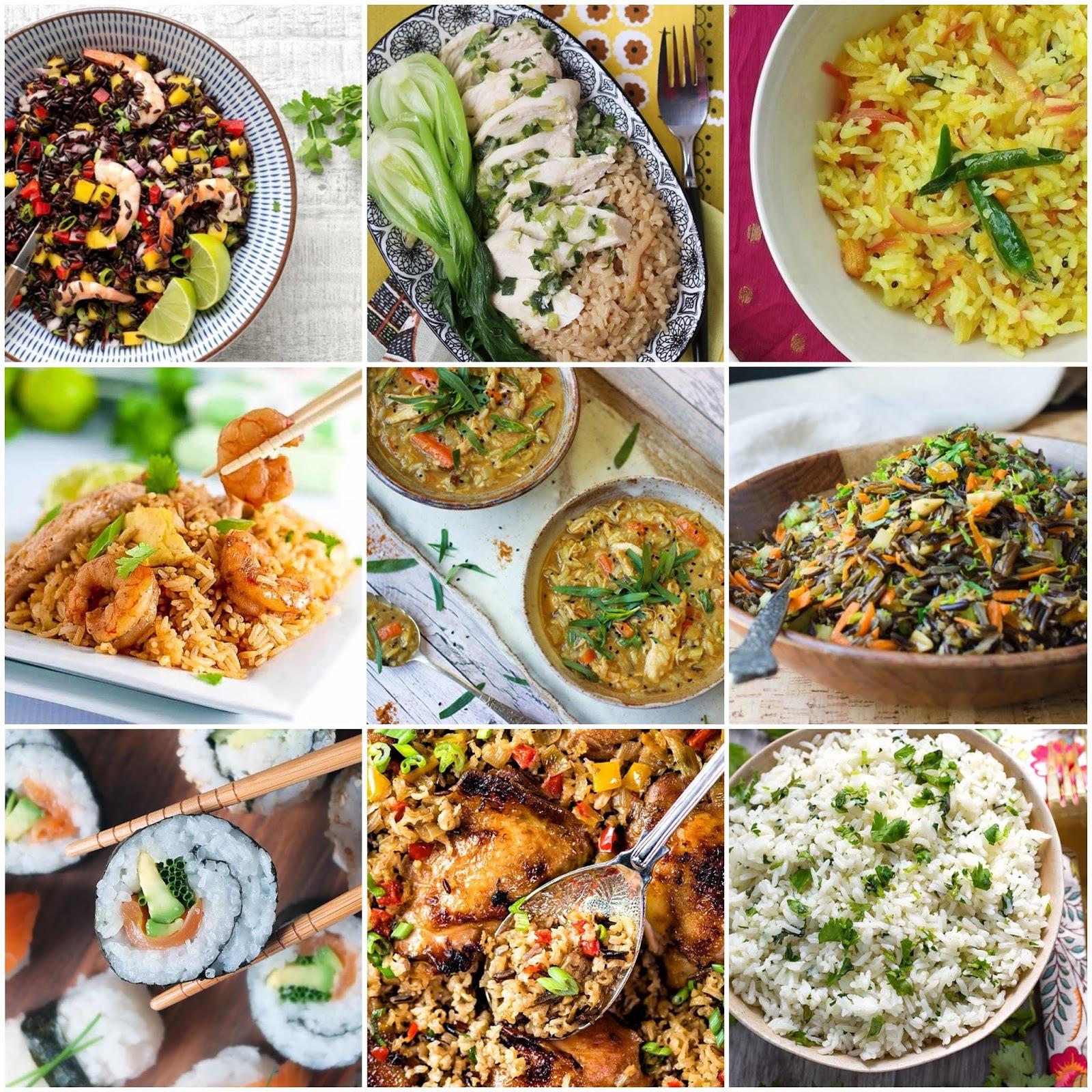 Fresh Global Cuisine Menu Ideas