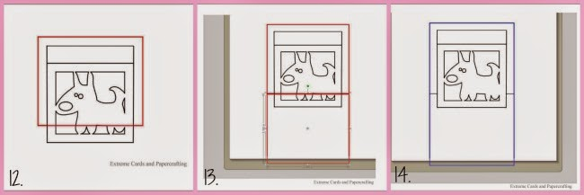 Silhouette tutorial, Silhouette Studio, design, cut, pop up window frame cards