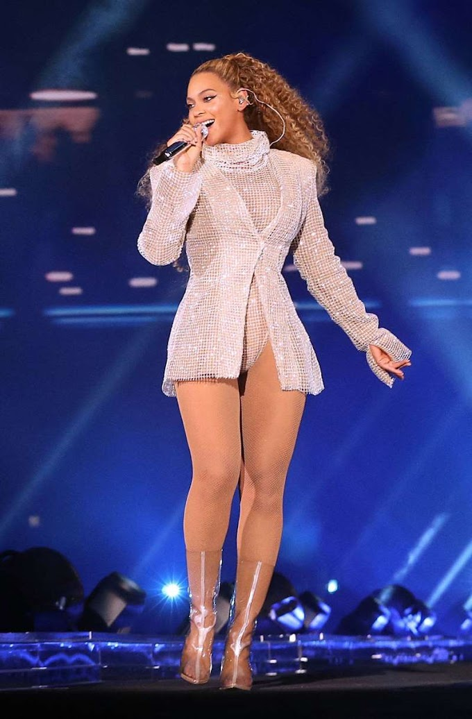 Watch: Beyonce rescued with ladder after malfunctioning stage strands her during Poland concert