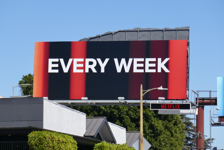 Every Week billboard