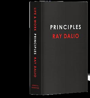 Book cover - Ray Dalio Principles