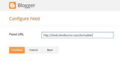 How to show recent posts in Blogger blog using Feed widget