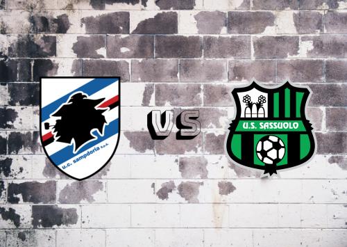 Sampdoria vs Sassuolo  Resumen