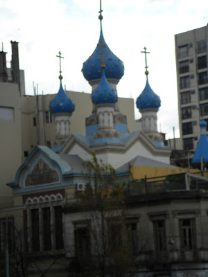 San Telmo; Buenos Aires; viajando pela America Latina; Igreja Ortodoxa Russa