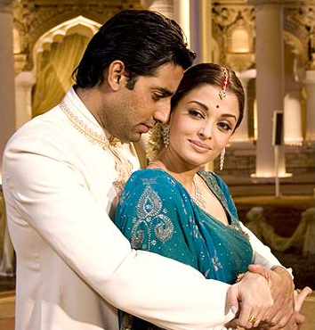 Abhishek Bachhcan and Aishwariya Rai Bachchan
