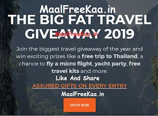 Win a free trip to Thailand