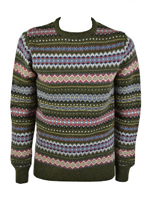 Fairisle crew knit