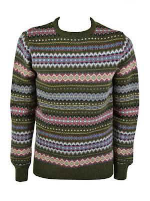 Fairisle crew knit