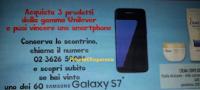 Logo Conad e Unilever ti fanno vincere 60 Samsung Galaxy S7